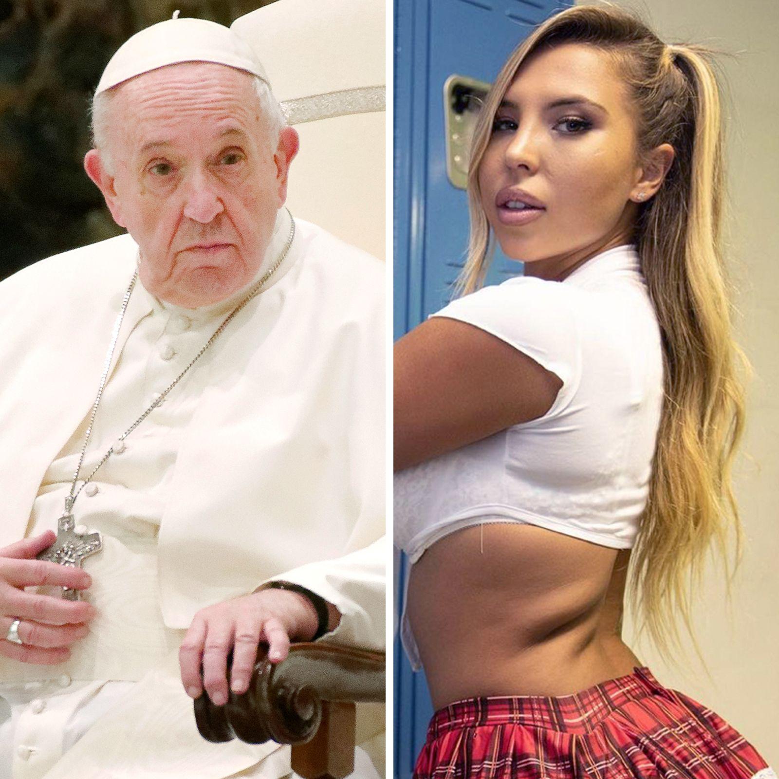 ¿Realmente le dio un like el Papa Francisco a la foto de una modelo brasileña semidesnuda?