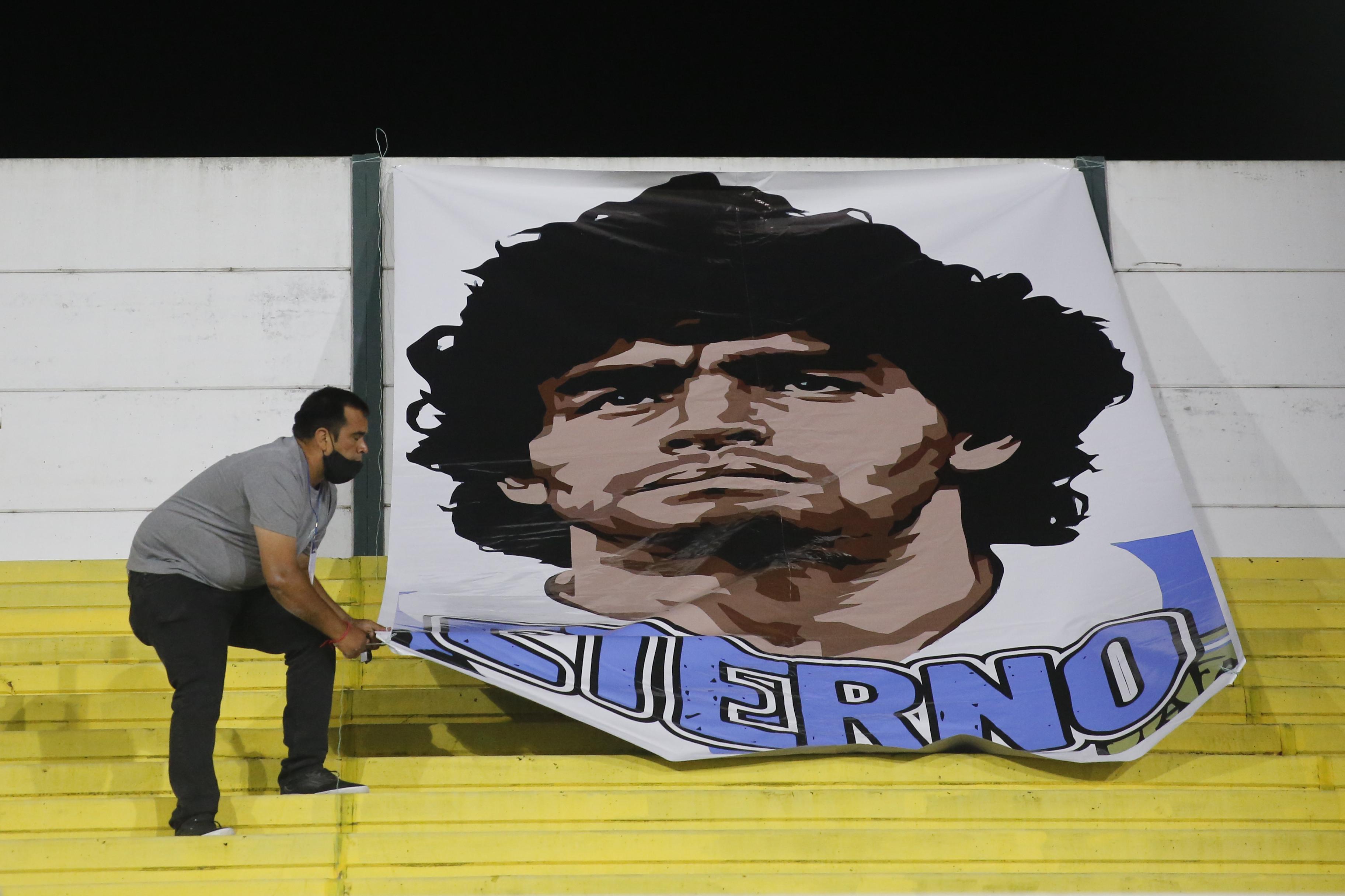La muerte de Maradona sigue generando reacciones en Europa