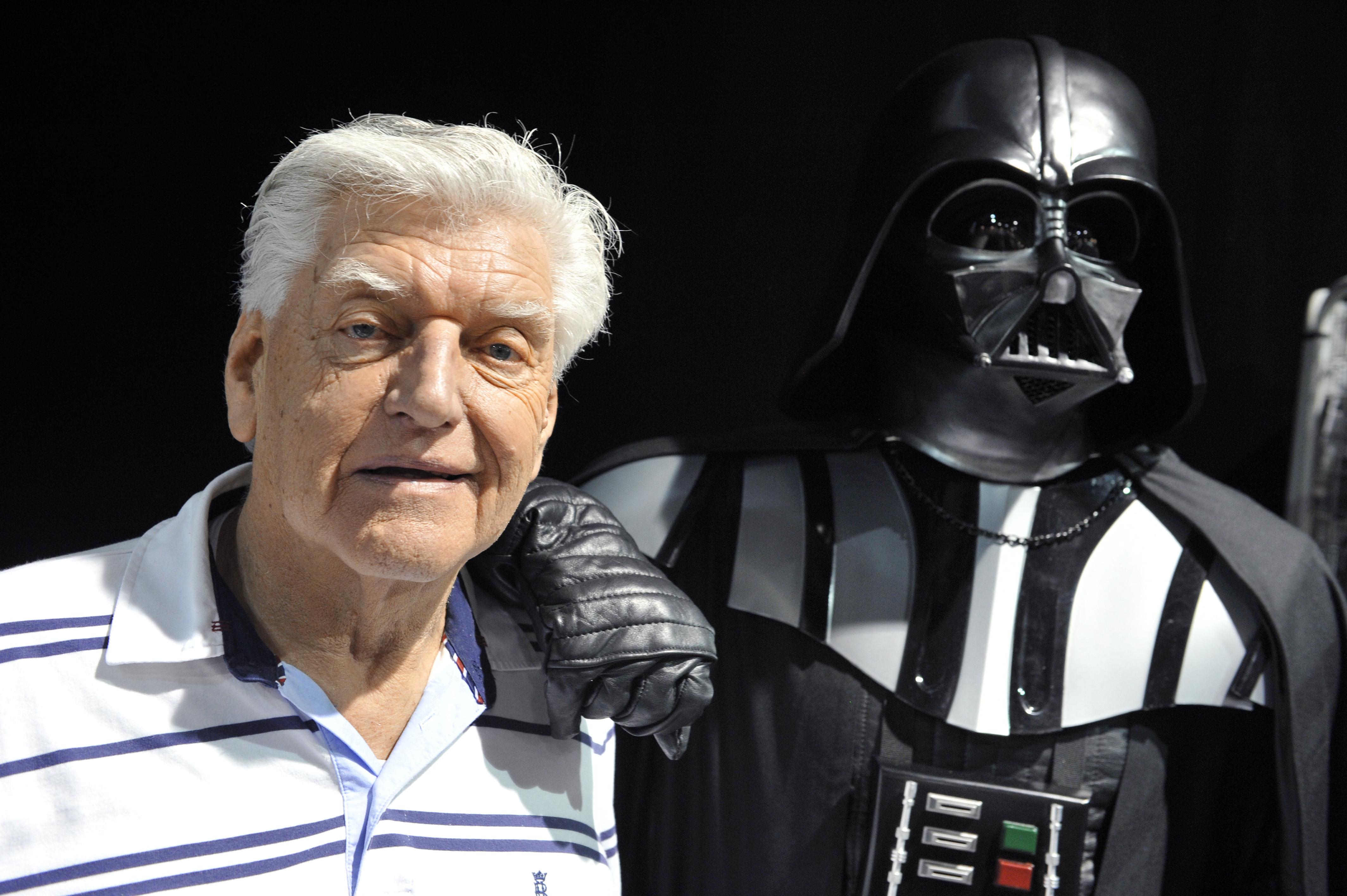 Muere actor británico Dave Prowse, que encarnó a Darth Vader en Star Wars