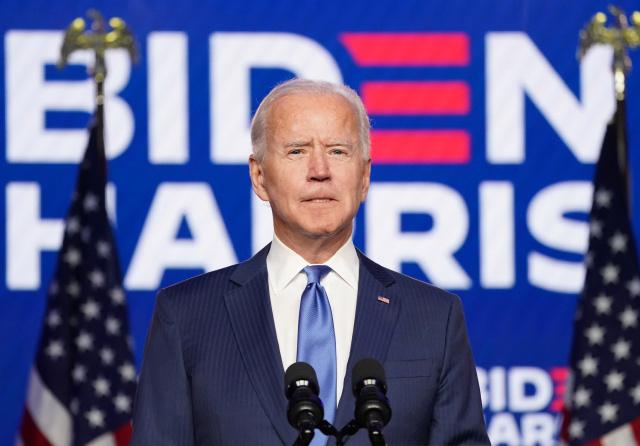 """Biden planea un discurso """"positivo y optimista"""" en su investidura"""