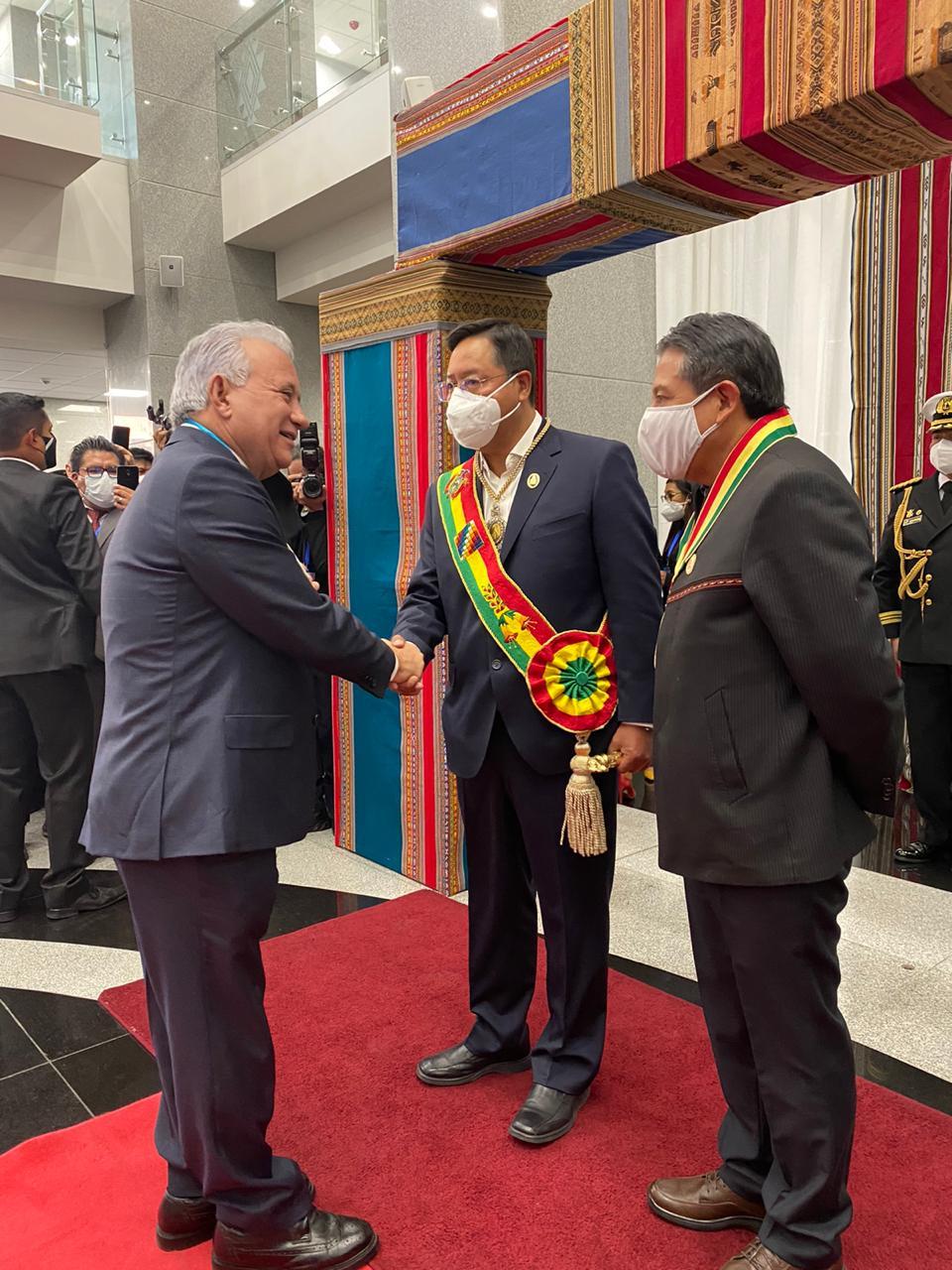RD propone a Bolivia abrir embajadas y estrechar lazos comerciales