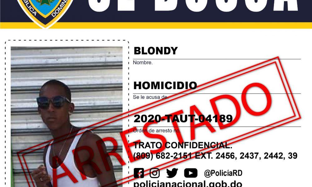 Video | Capturan a Blondy involucrado en muerte niña de 5 años durante atraco en Los Alcarrizos