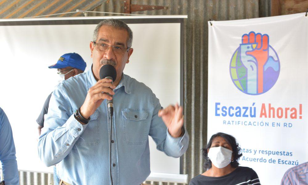 Carlos Sánchez llama a ratificar Tratado de Escazú