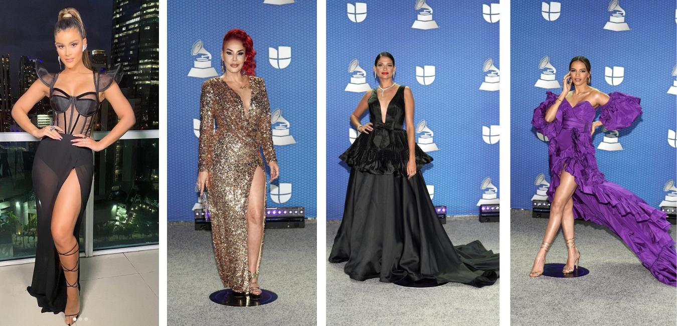 Las mejores vestidas de los premios Latin Grammy 2020