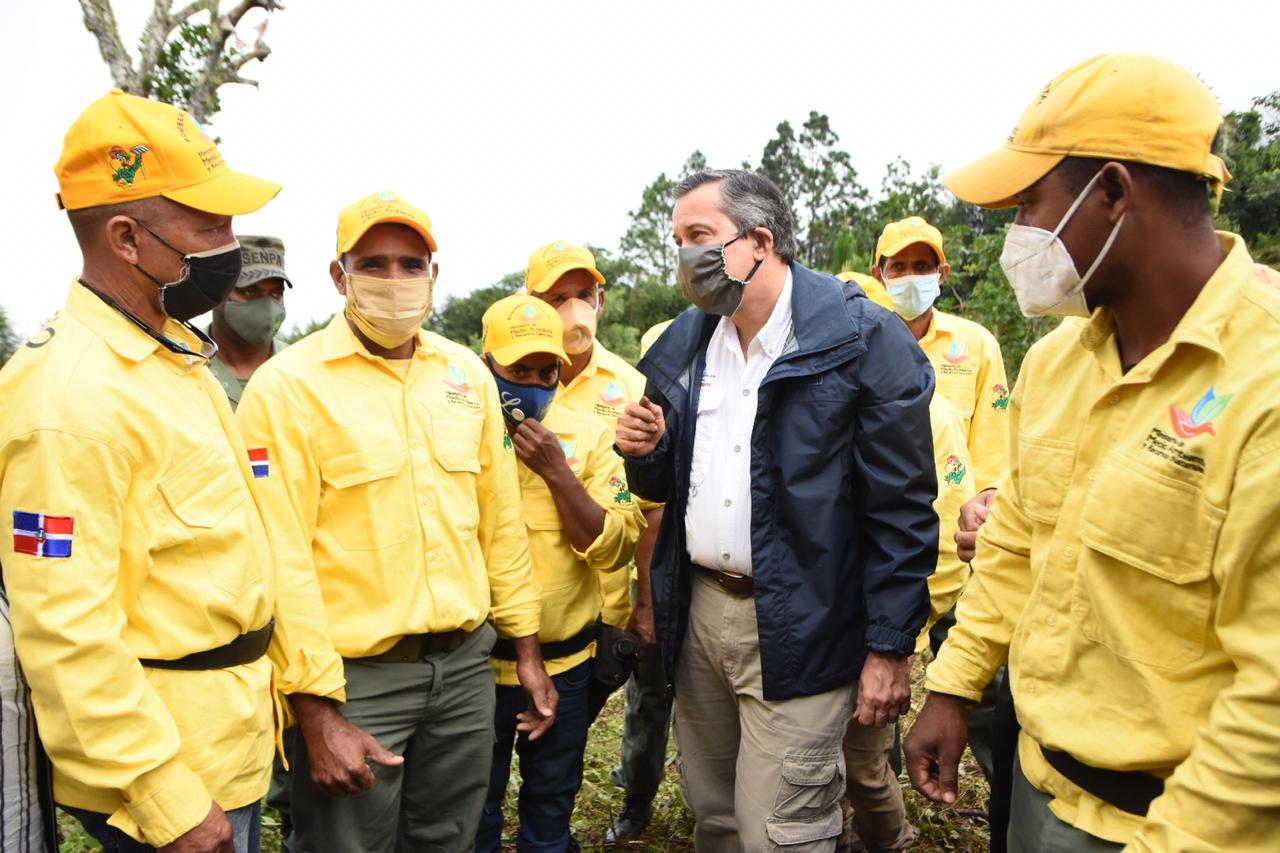 Ministro Medio Ambiente anuncia Proyecto de Restauración de la Cuenca del Rio Ocoa
