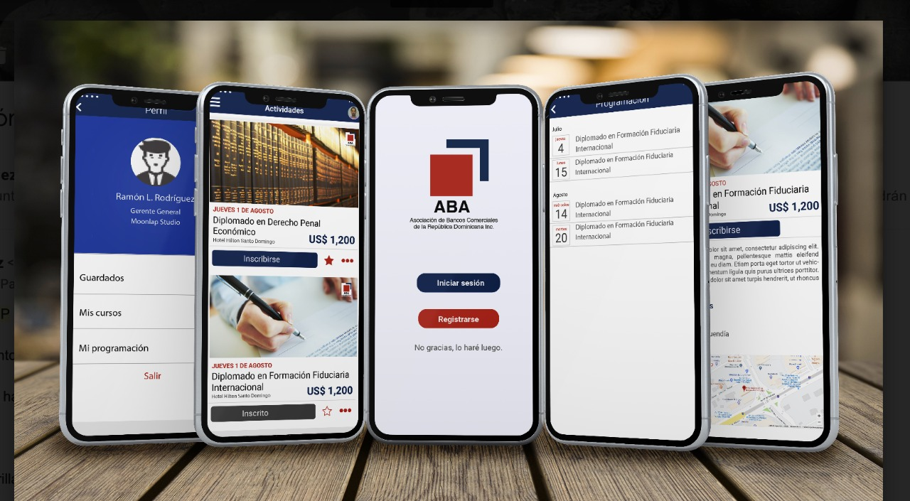 La Asociación de Bancos Comerciales lanza aplicación móvil para la gestión de actividades formativas