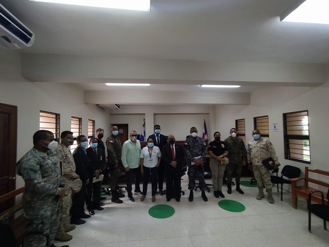 Realizan encuentro sobre seguridad fronteriza en Elías Piña