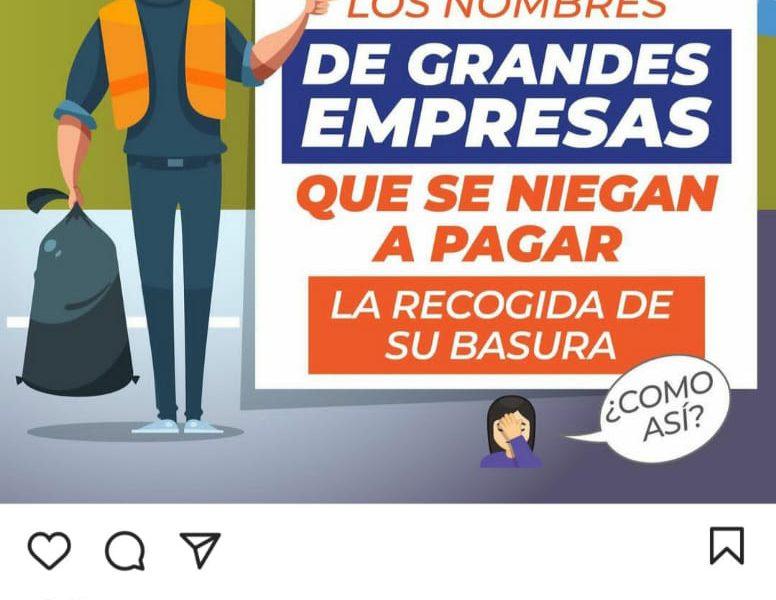 Alcaldía de Santiago publicará nombres de empresas que no pagan impuestos