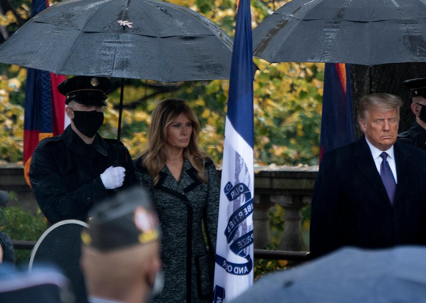Melania Trump reaparece tras las elecciones presidenciales