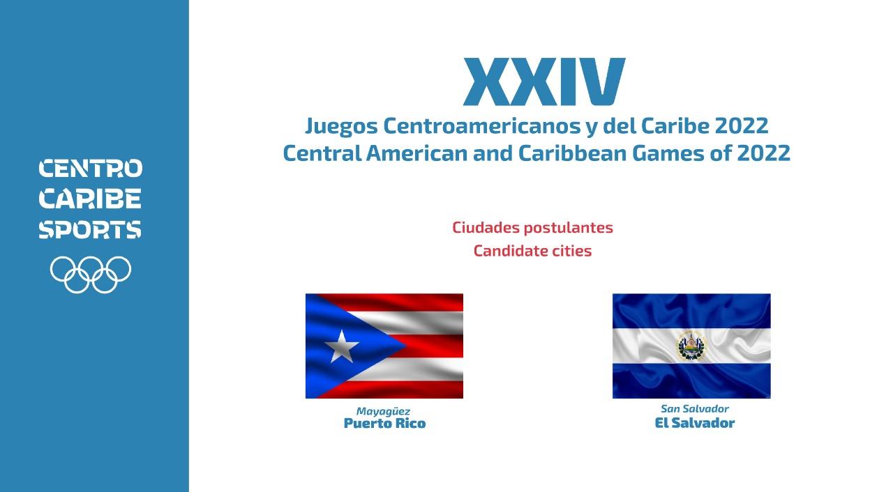 Puerto Rico y El Salvador solicitan sede para Juegos Centroamericanos y del Caribe 2022