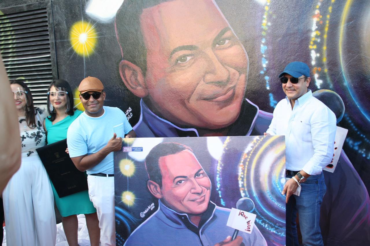Alcaldía de Santiago rinde homenaje a Tony Dandrades, Celines Toribio y Adalgisa Pantaleón