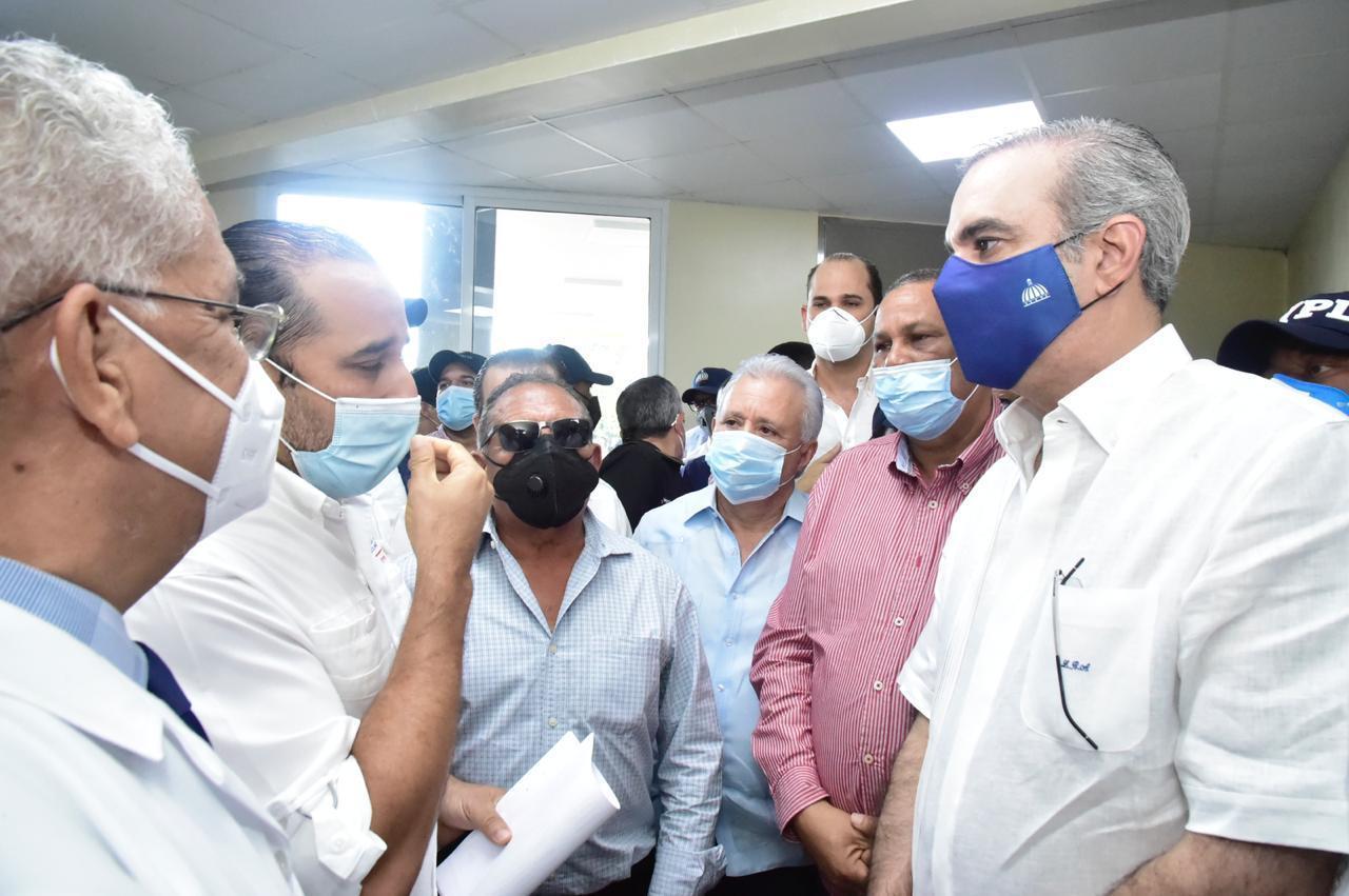Gobierno entrega 100 millones de pesos para terminar reconstrucción del Hospital Calventi