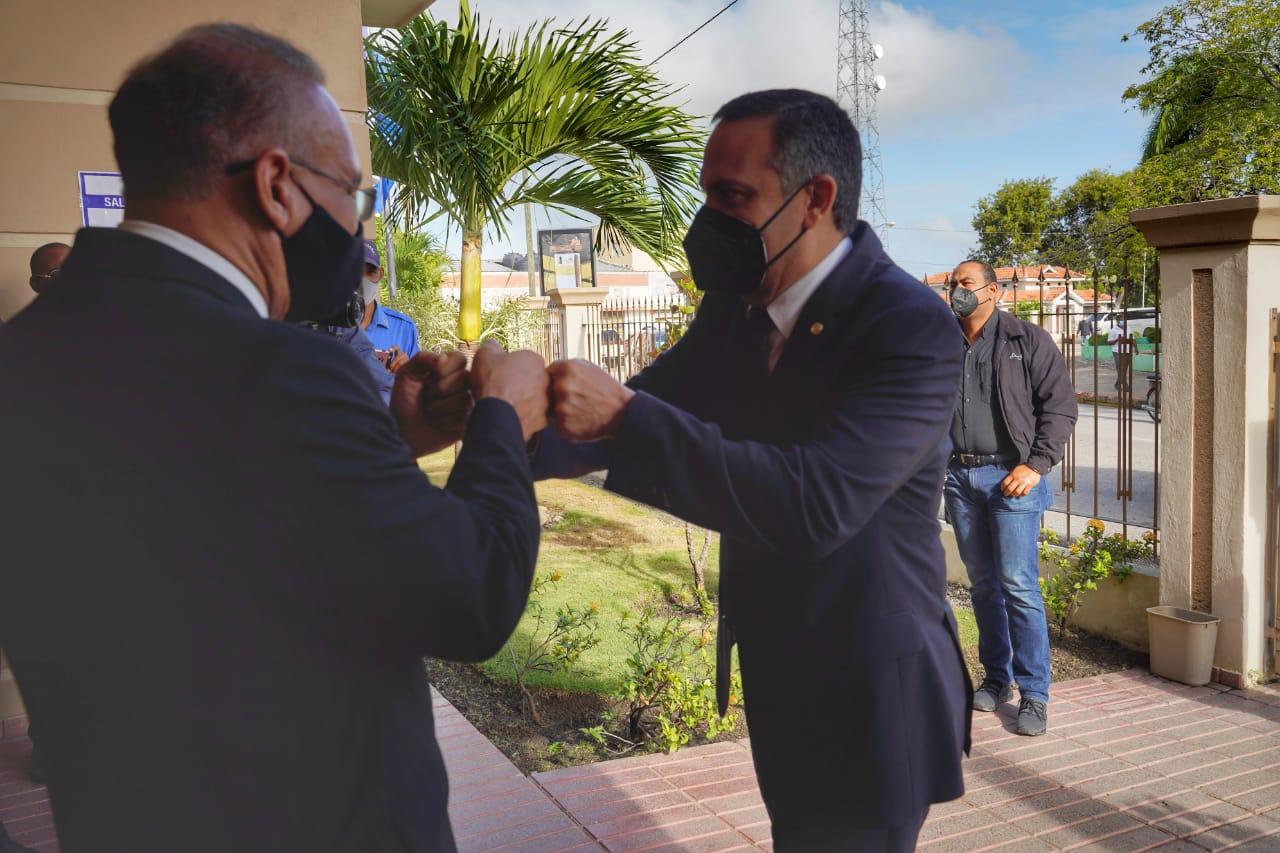 Presidente de la SCJ realiza recorrido por el Departamento Judicial de San Juan de la Maguana