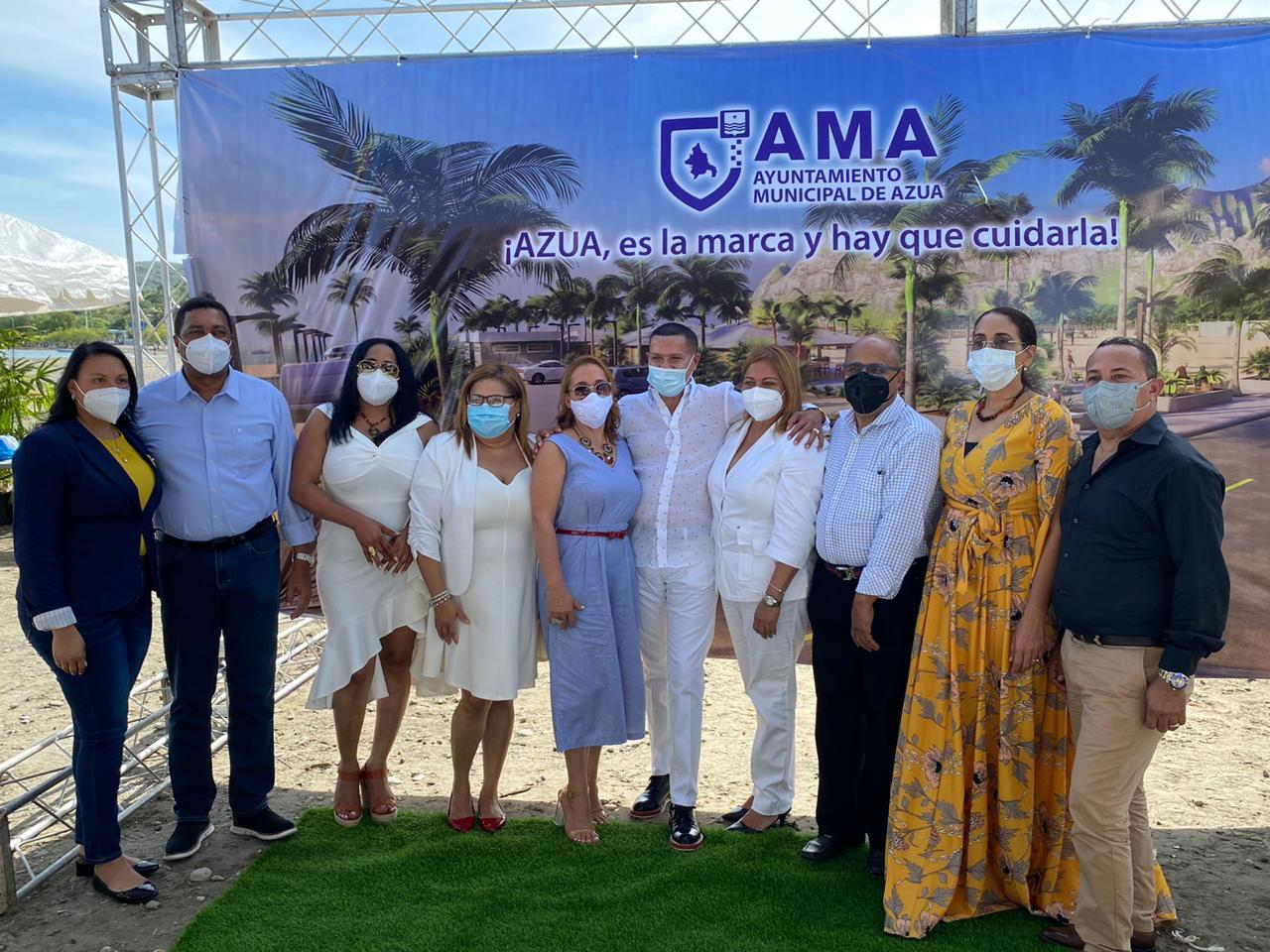 Video | Alcaldía de Azua presenta Proyecto Desarrollo Playa Monte Río