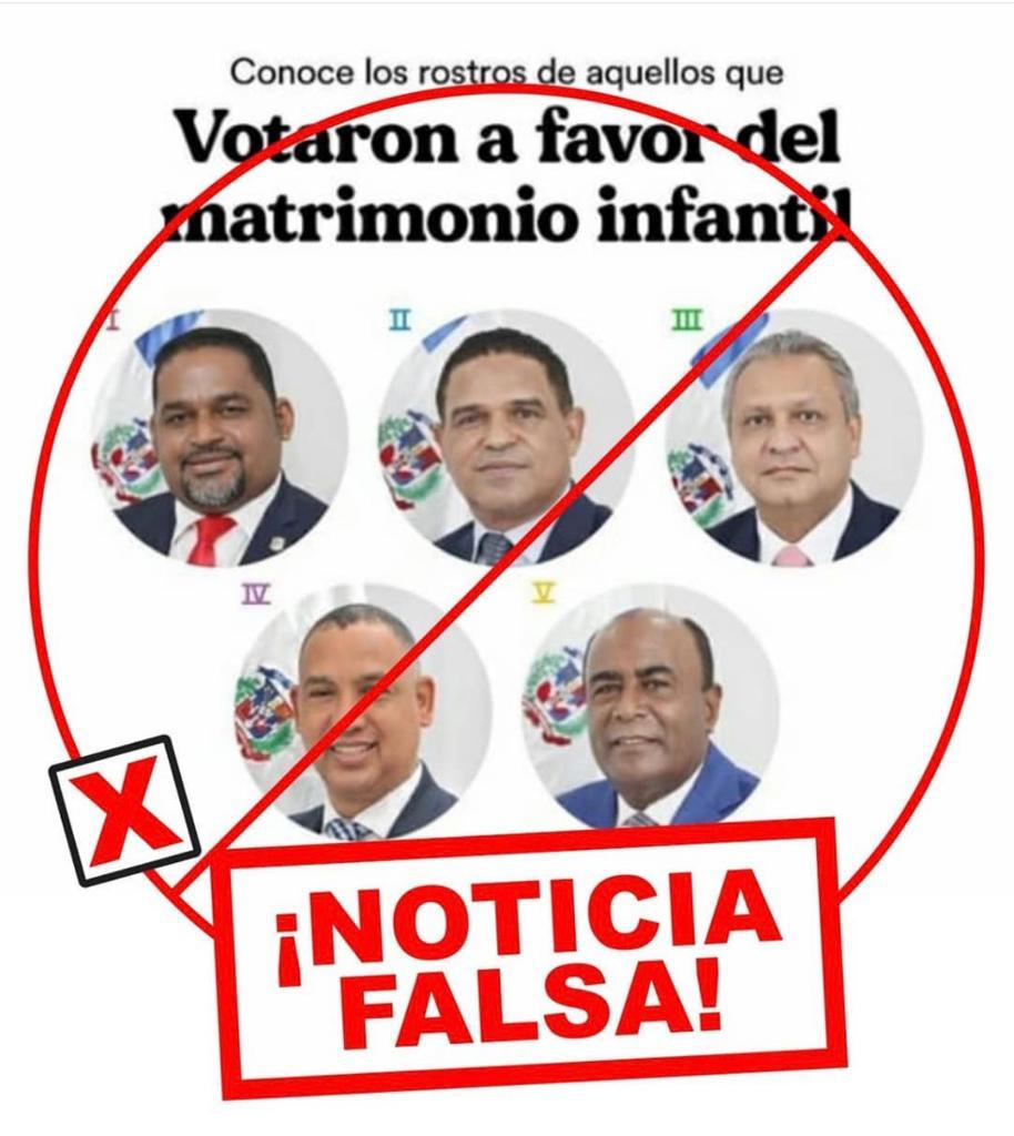 Omar Fernández y José Horacio dicen es falso colegas estén a favor del matrimonio infantil