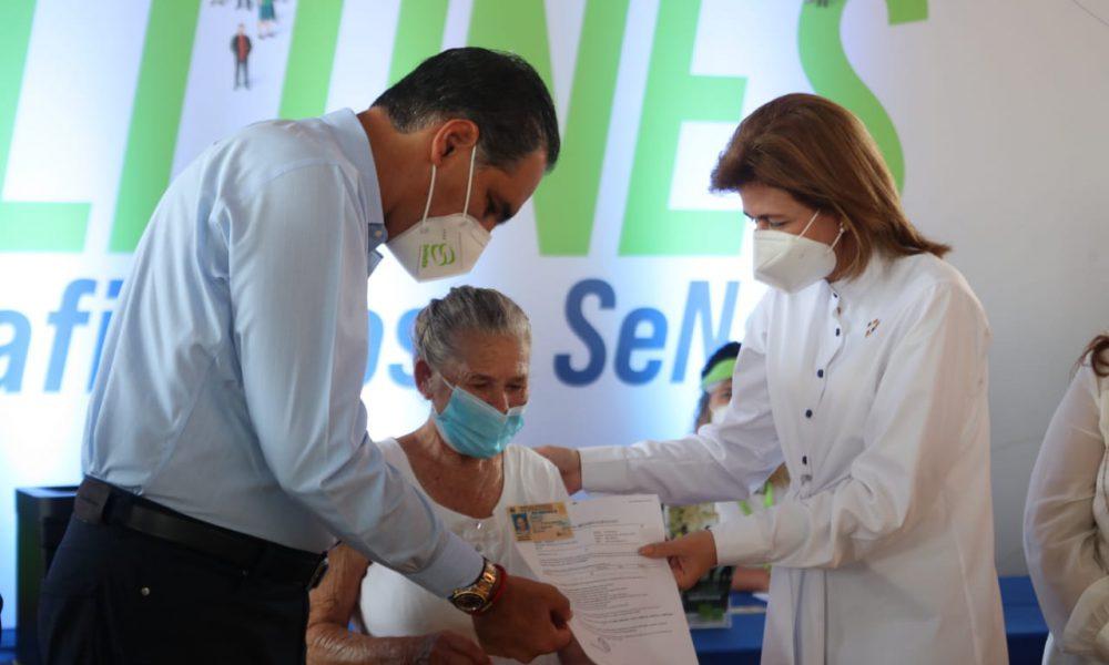 Raquel Peña asegura gobierno trabaja por el desarrollo de Santiago