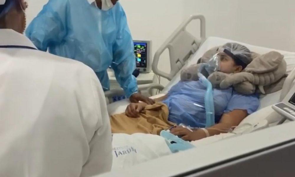Musicólogo agradece visita de Cruz Jiminián a su esposa Ana Carolina en cuidados intensivos