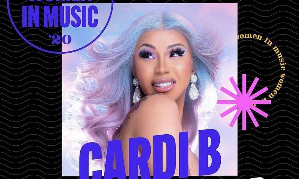 "Billboard nombra a Cardi B ""Mujer del año"""