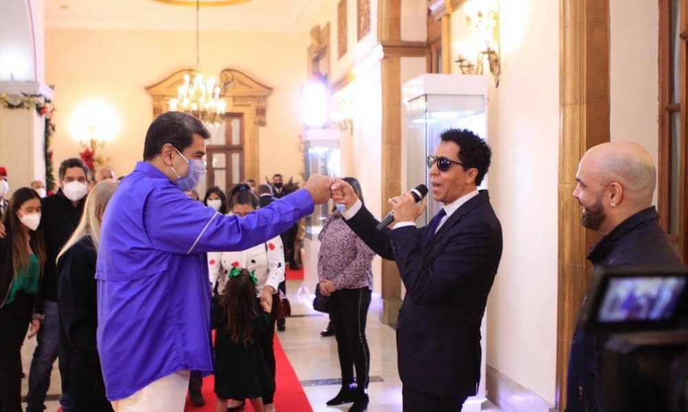 Bonny Cepeda es invitado a cumpleaños de Nicolás Maduro