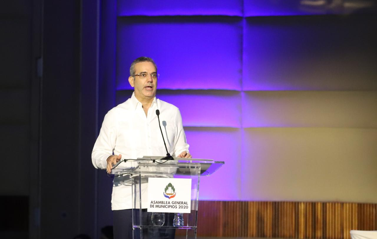 Presidente Abinader anuncia aumento en partidas presupuestarias de ayuntamientos
