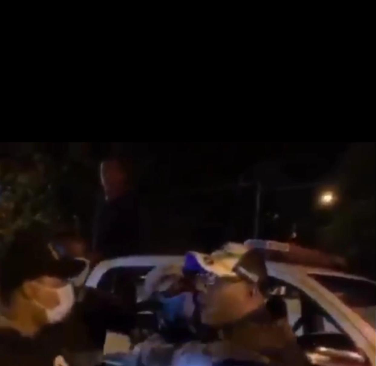 Video   Yerno del Senador de Hato Mayor se resiste a arresto y amenza con cancerla a quienes lo detuvieron