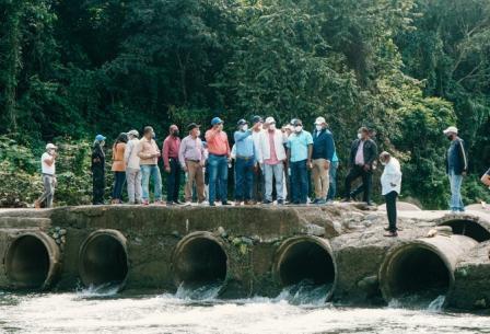 Retoman construcción presa de Guaigüí para llevar agua a La Vega