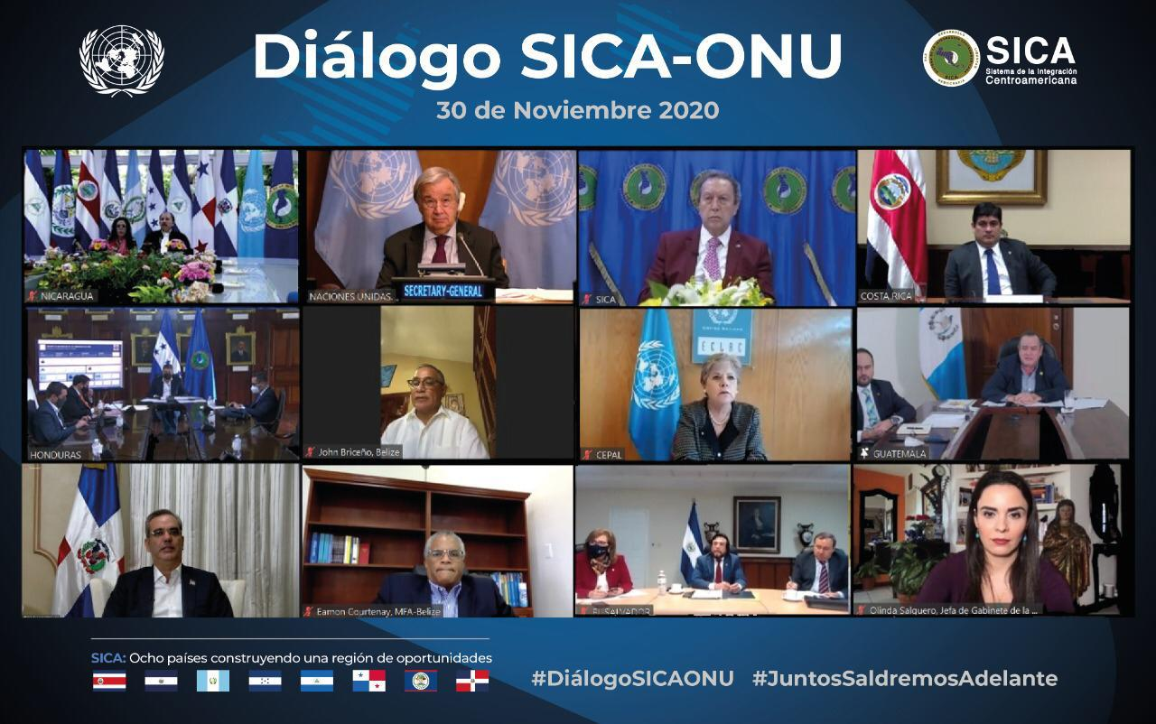 Primera Reunión Extraordinaria de jefes de Estado para el presidente Abinader