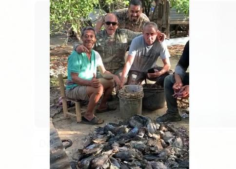 Dos hombres son investigados por hallazgo de aves migratorias muertas en Montecristi