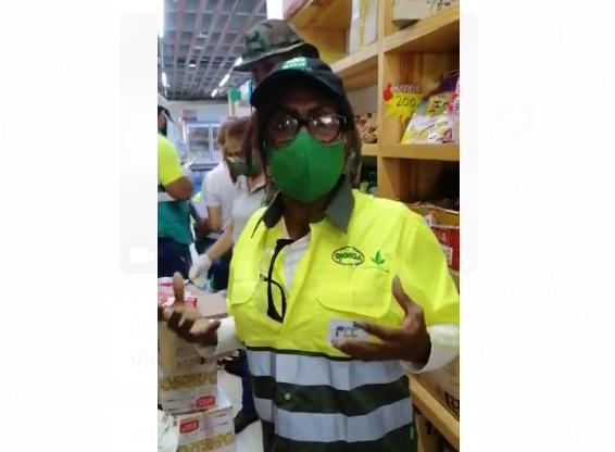 Video | Autoridades decomisan productos cárnicos en el Barrio Chino