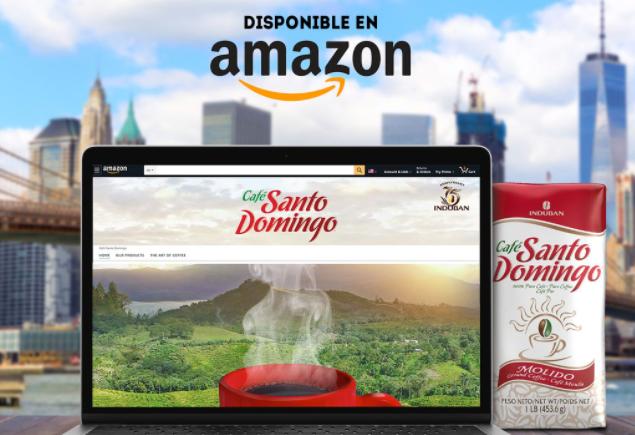 Induban celebra Café Santo Domingo estrena tienda en Amazon