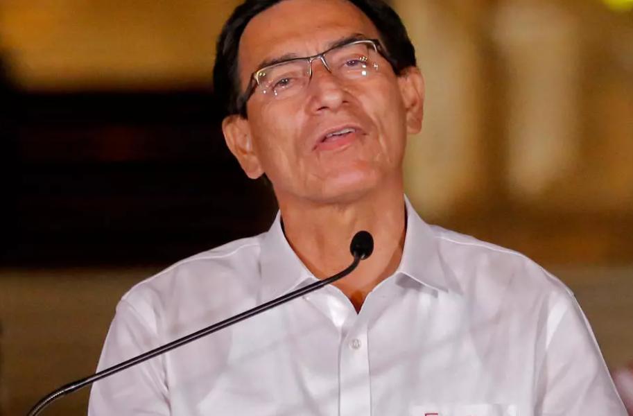 Manuel Merino asume como tercer presidente de Perú desde 2016