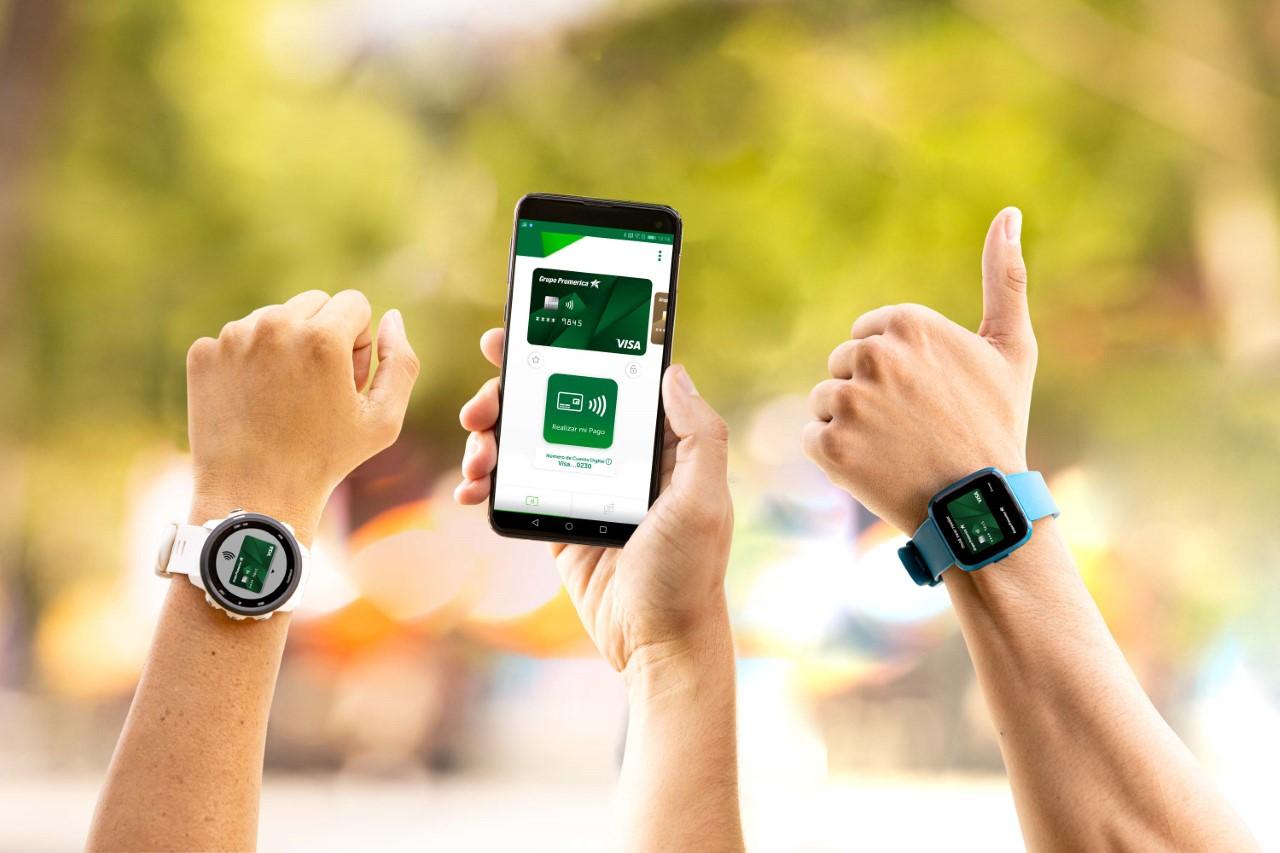 Promerica ofrece nuevo método de pago sin usar tarjetas físicas