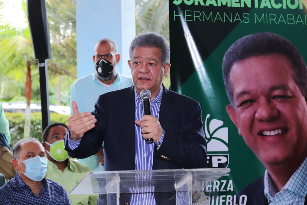 """Leonel Fernández: """"el PLD se emborrachó de poder y por eso está pasando situaciones difíciles"""""""