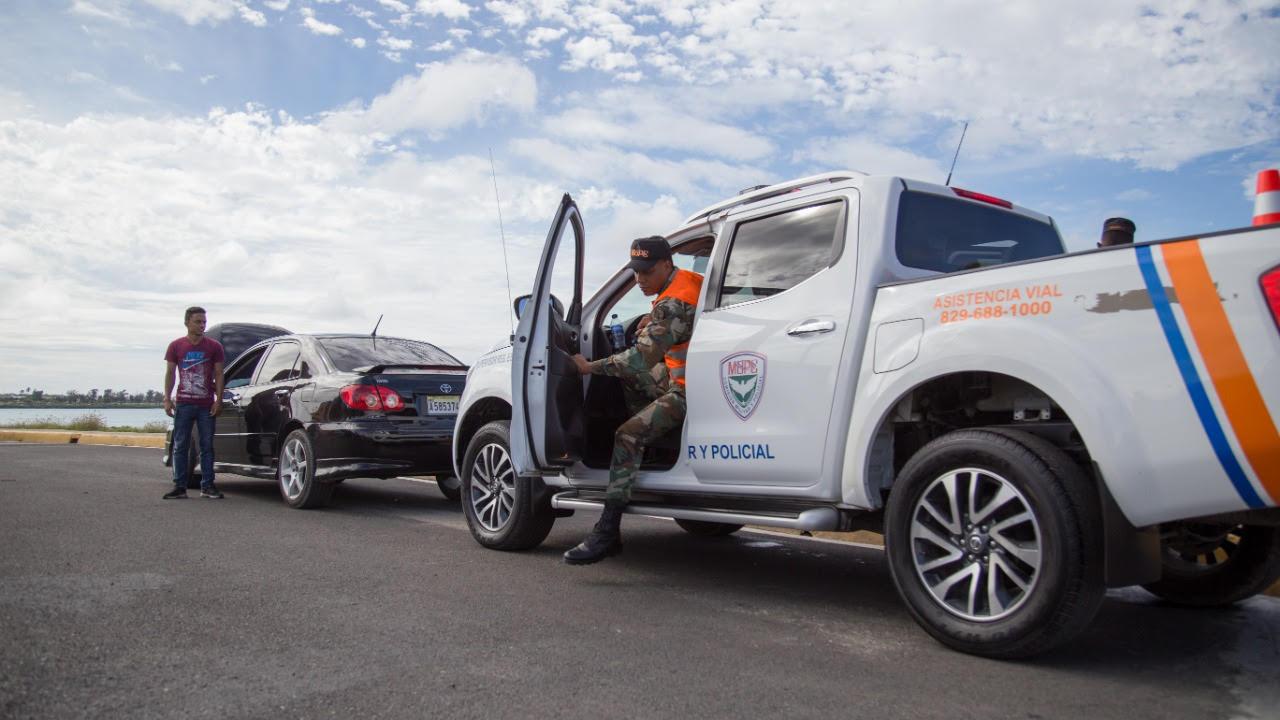 MOPC dispone reforzamiento de la vigilancia en autopista Las Américas