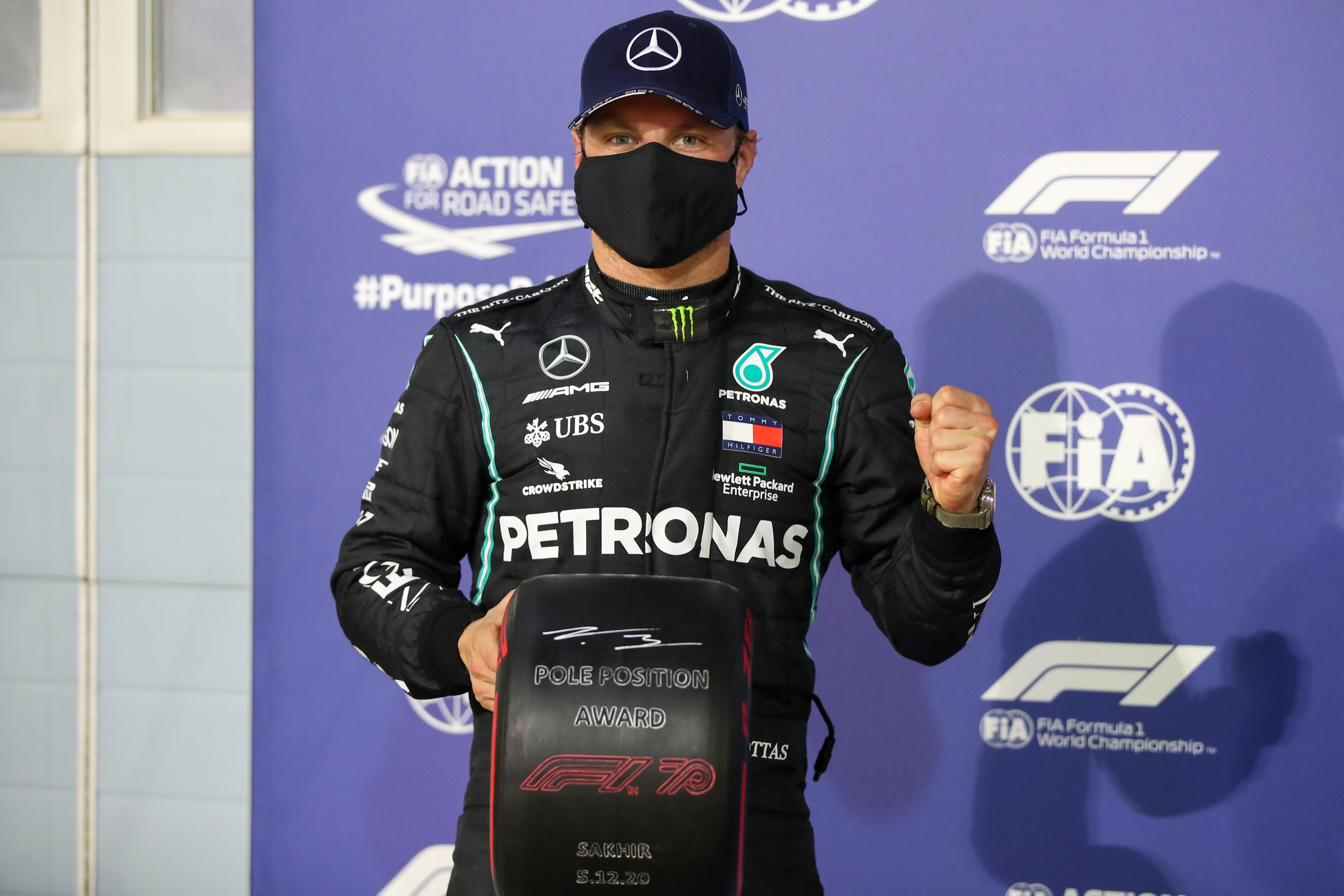 Valtteri Bottas logra la pole del GP de Sakhir
