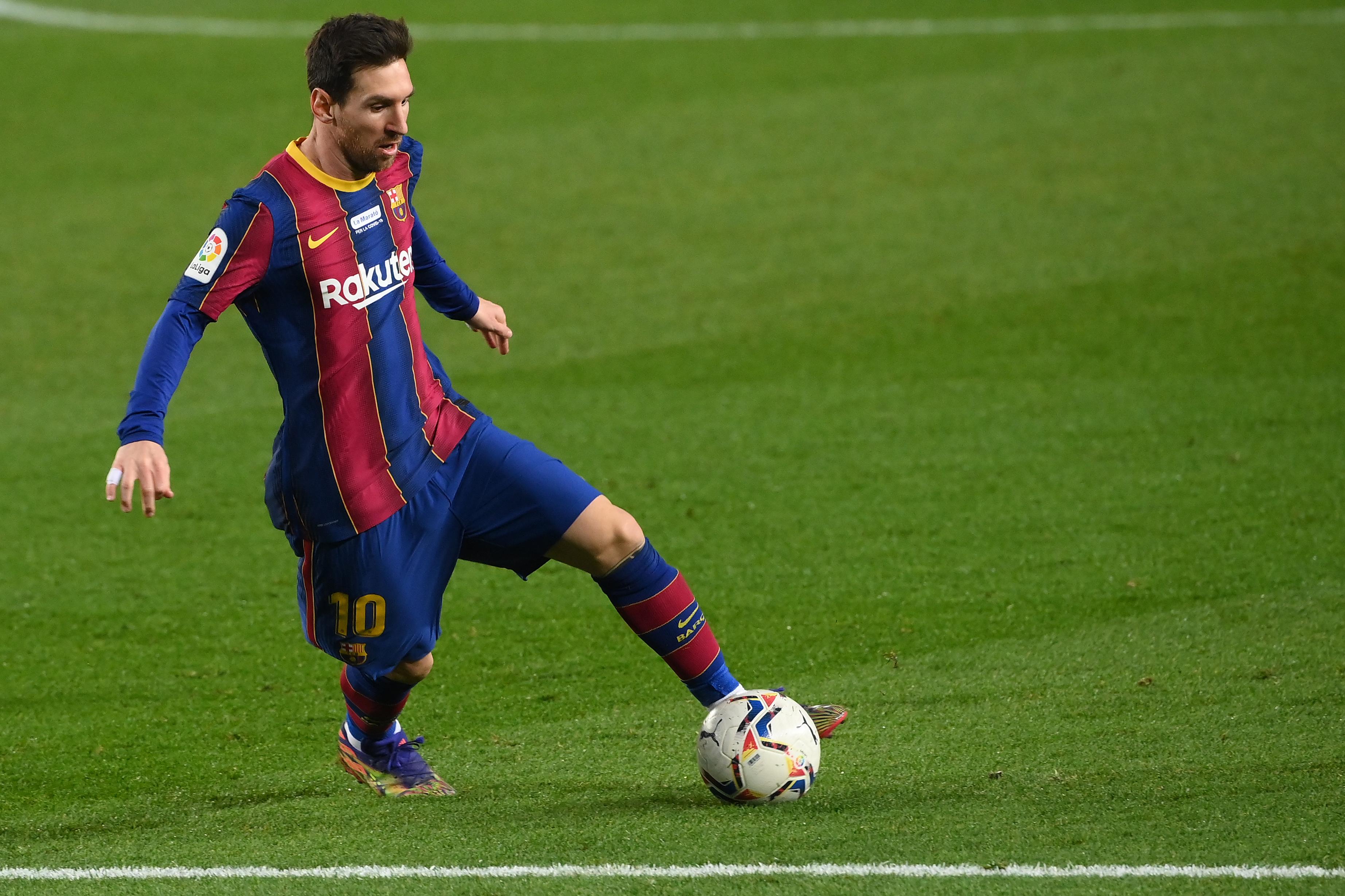 Messi iguala a Pelé como máximo goleador en un mismo club