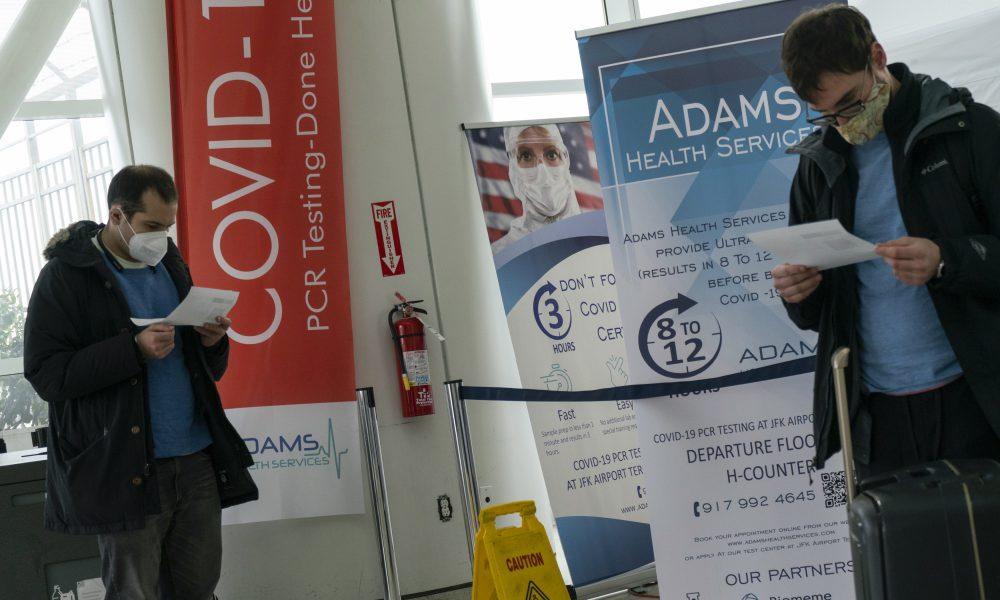 EE.UU. exigirá prueba negativa de covid-19 para ingresar desde Reino Unido
