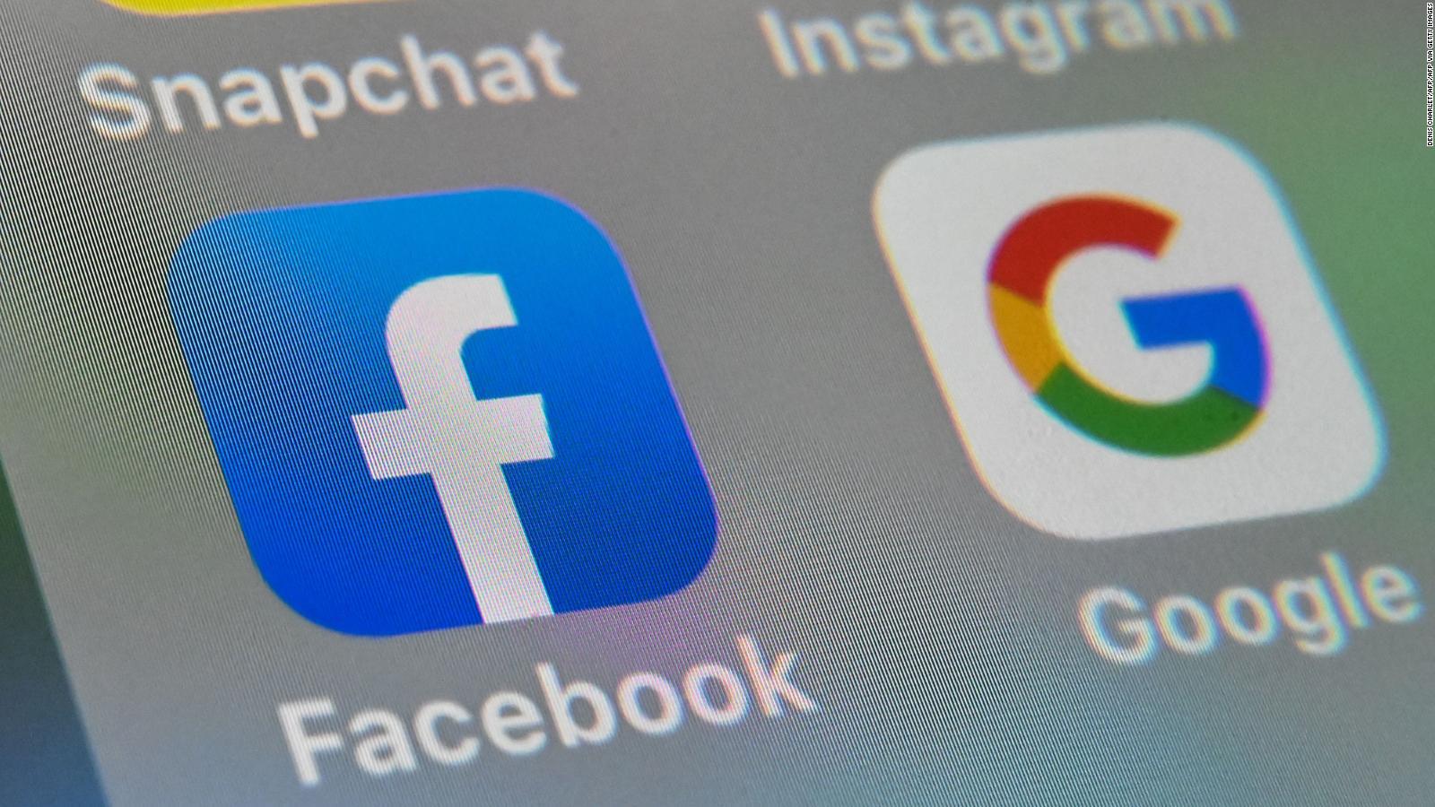 Google y Facebook coordinan respuesta antimonopolio, según The Wall Street Journal