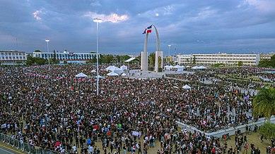 2020 | El año de las protestas en la Plaza de la Bandera y los cacerolazos