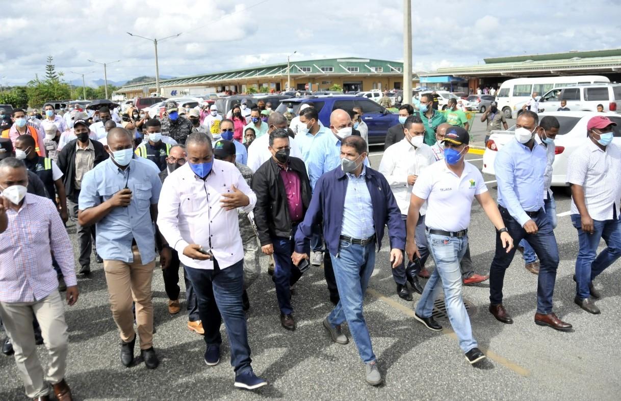 Trasladan Mercado de Pulgas al Merca Santo Domingo provisionalmente