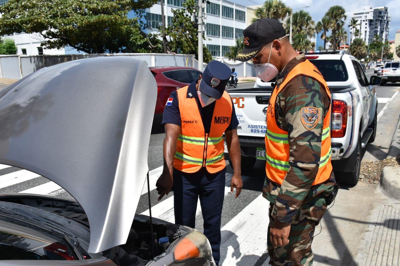COMIPOL auxilia 23,690 conductores por averías de vehículos en las carreteras del país