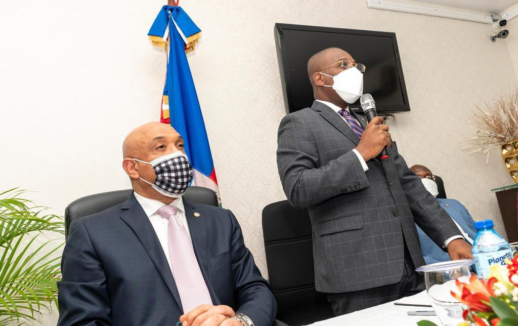 Canciller de Haití se reunió con la diáspora haitiana en Santo Domingo