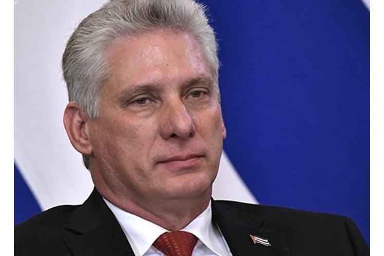 Denuncia Díaz-Canel evidencias de golpe blando contra Cuba