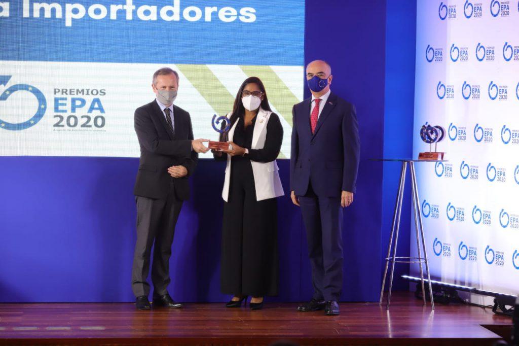 Unión Europea premia a Intellisys como empresa destacada en exportaciones RD