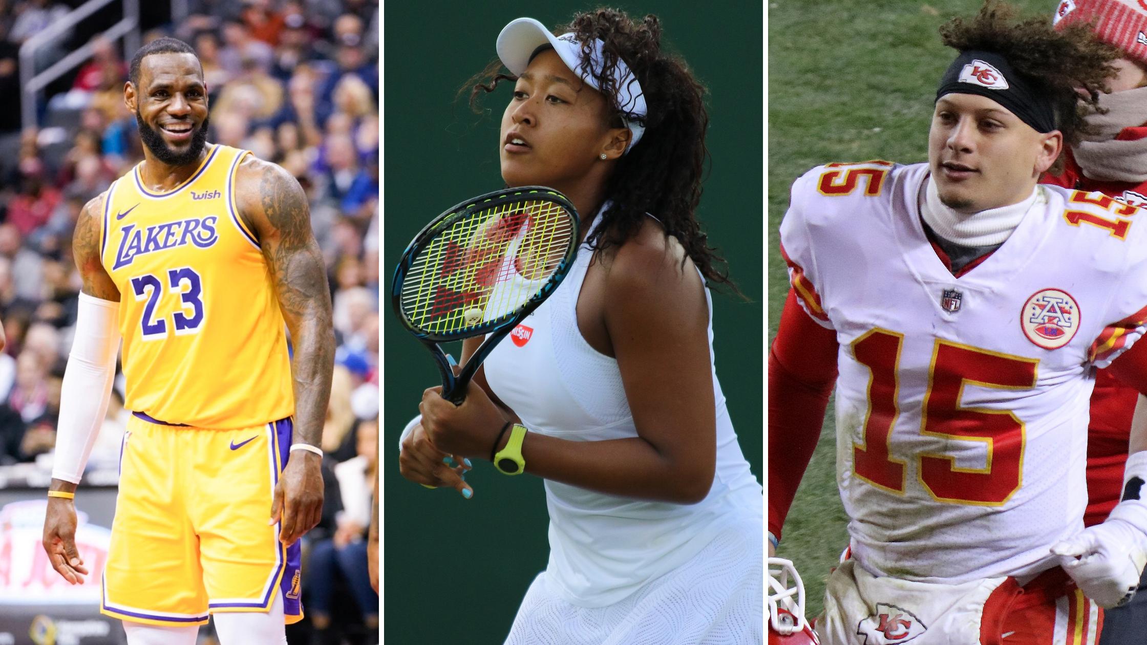 """LeBron, Osaka y Mahome entre los """"Deportistas del Año"""" de Sports Illustrated"""