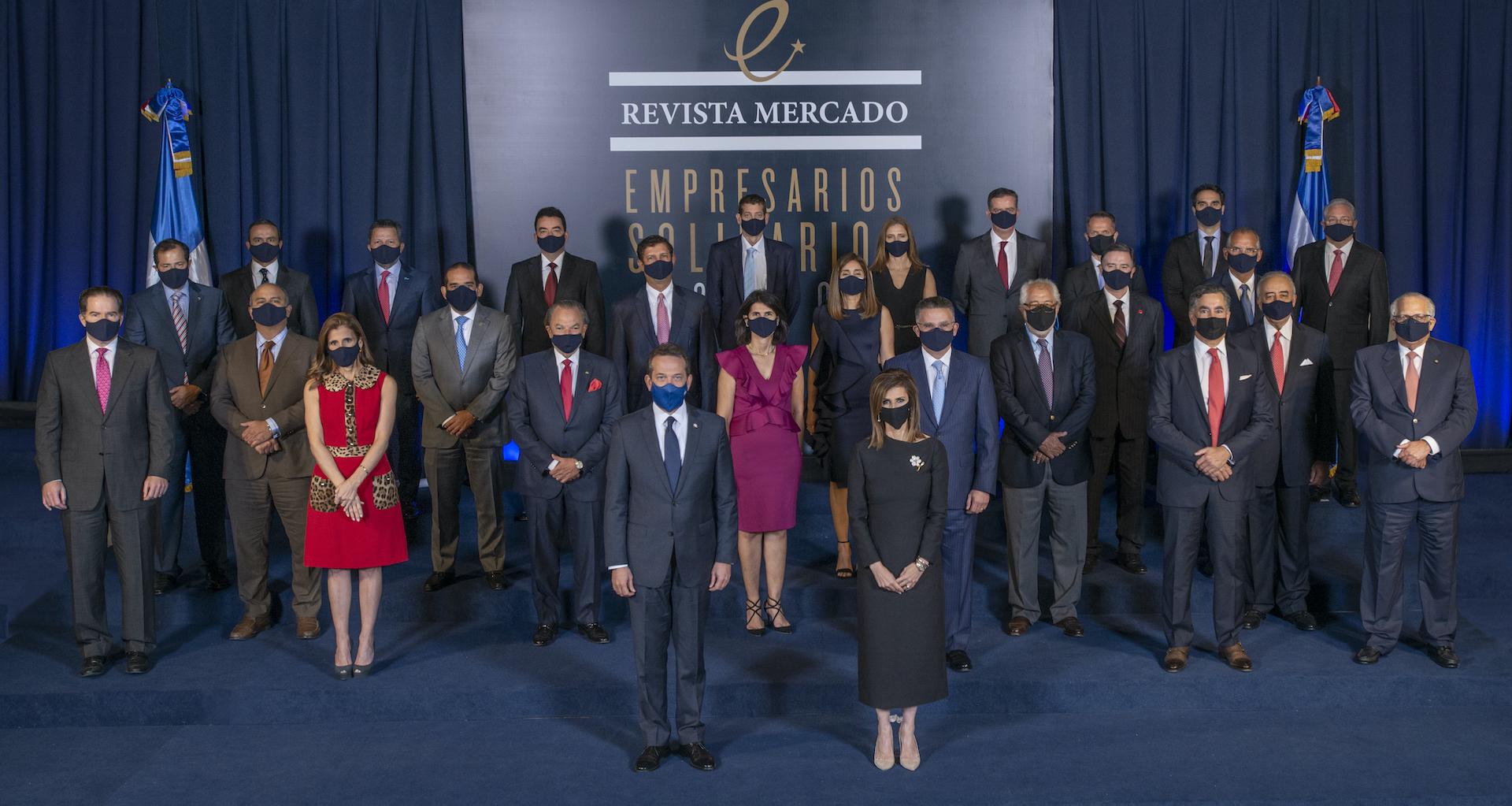 Revista Mercado reconoce a empresarios solidarios