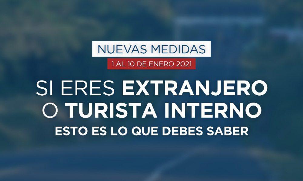 Gobierno otorga libre tránsito hasta las 5:00 pm a turistas extranjeros y dominicanos que culminen estadía fin de semana