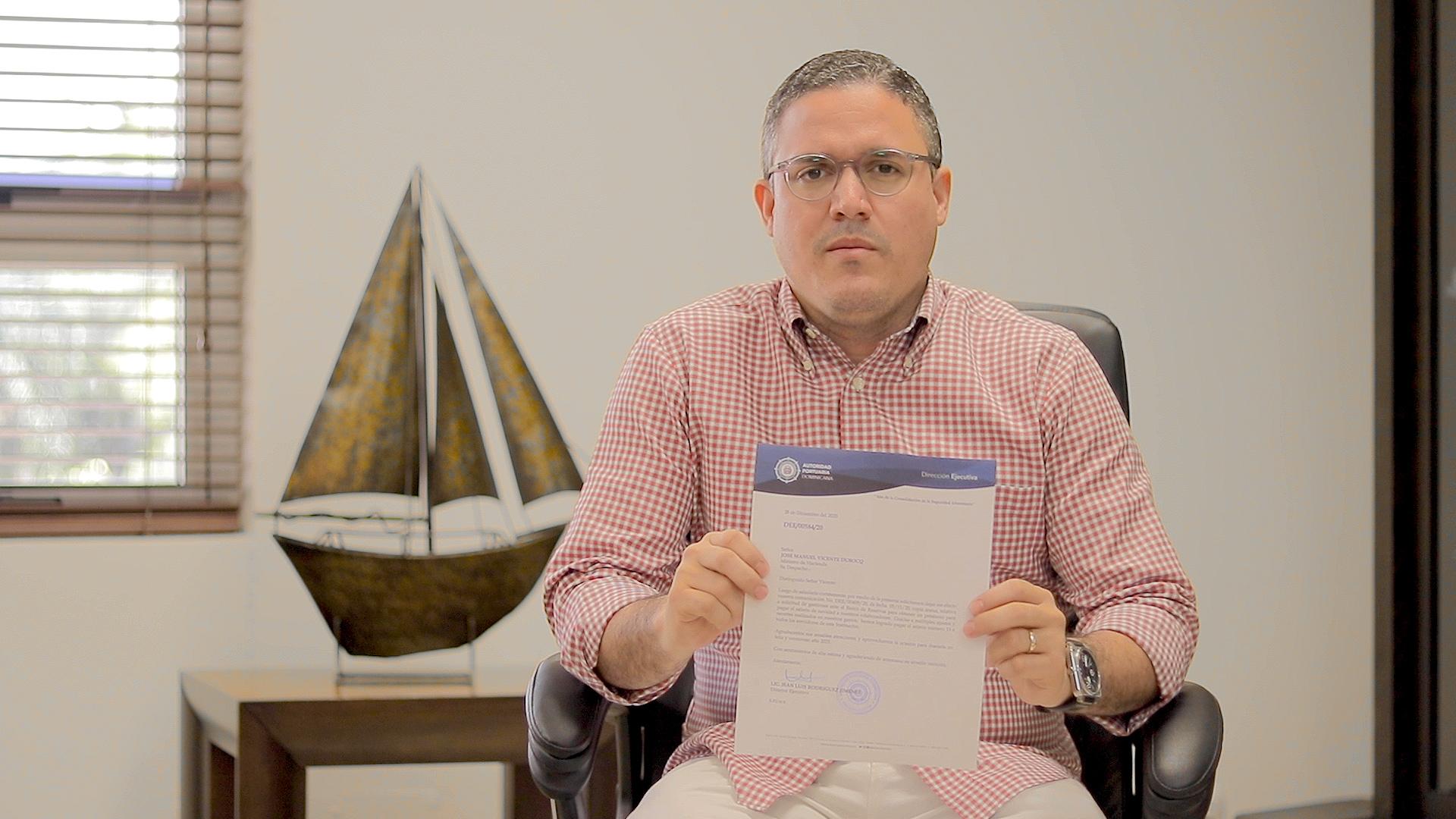 Autoridad Portuaria cancela préstamo con el Ministerio de Hacienda para pagar regalía