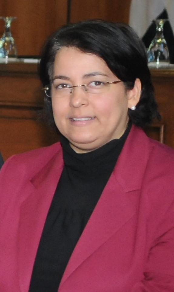 La magistrada Roxanna Reyes muestra mejoría de sus condiciones de salud