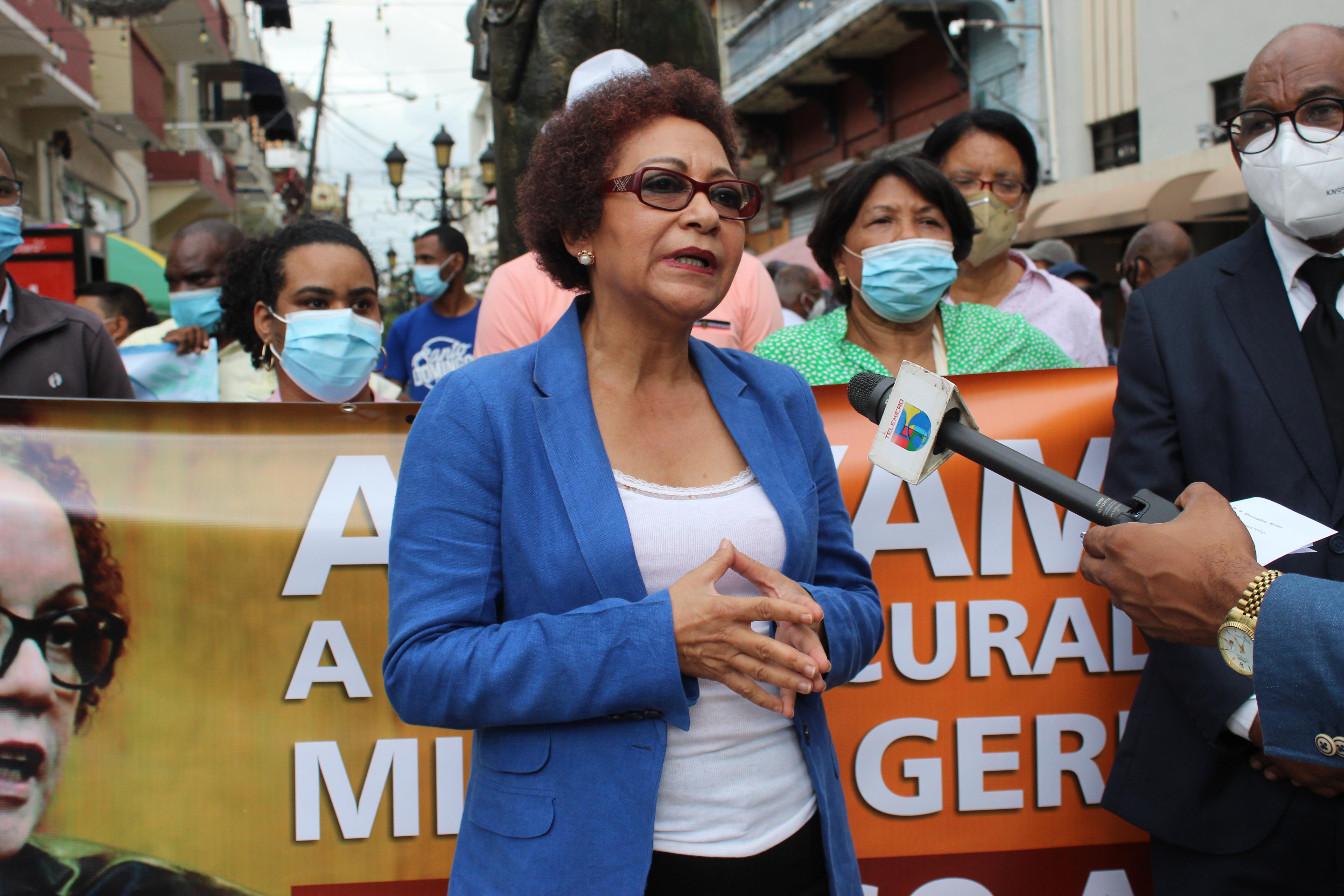 Respaldan acciones de la procuradora Miriam Germán contra exfuncionarios
